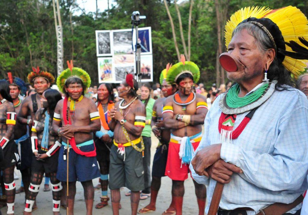 Raoni Kayapo Amazonie