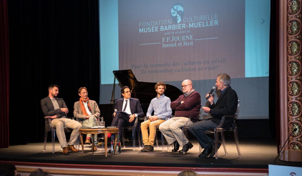 Table ronde déforestation Théâtre Les Salons