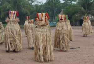 Kayapo Amazonie Brésil masque de singe